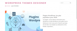 Wordpress Themes Designer